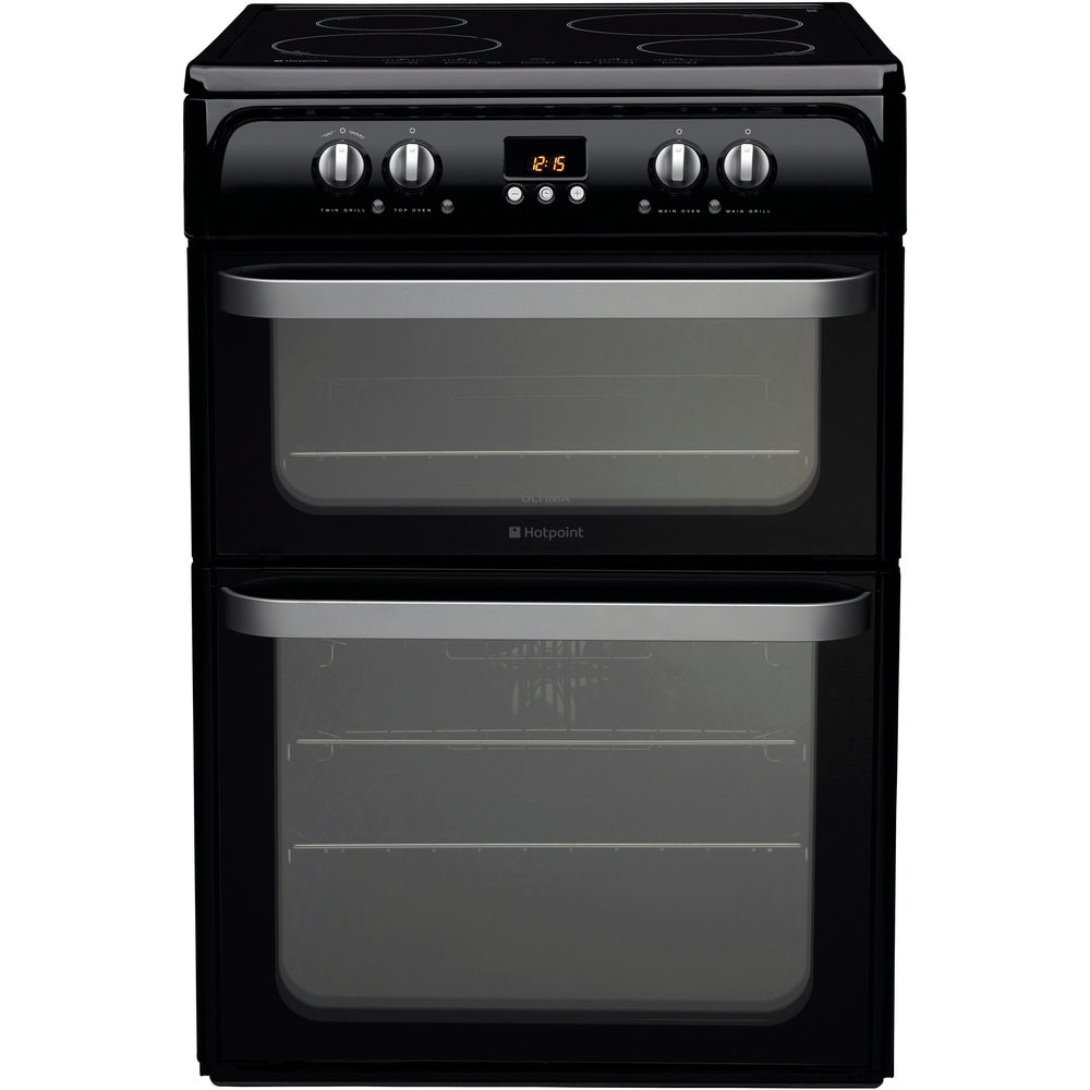 Hotpoint Ultima HUI614 K Cooker - Black