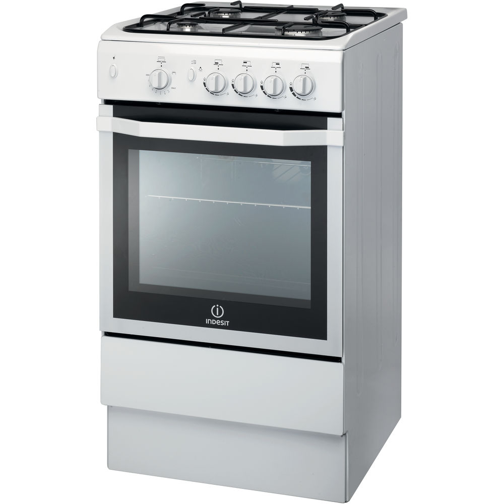 Gas freestanding cooker: 50cm