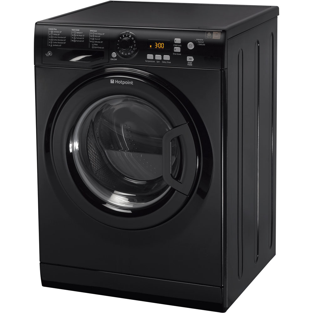 Hotpoint Extra WMXTF 742K Washing Machine - Black