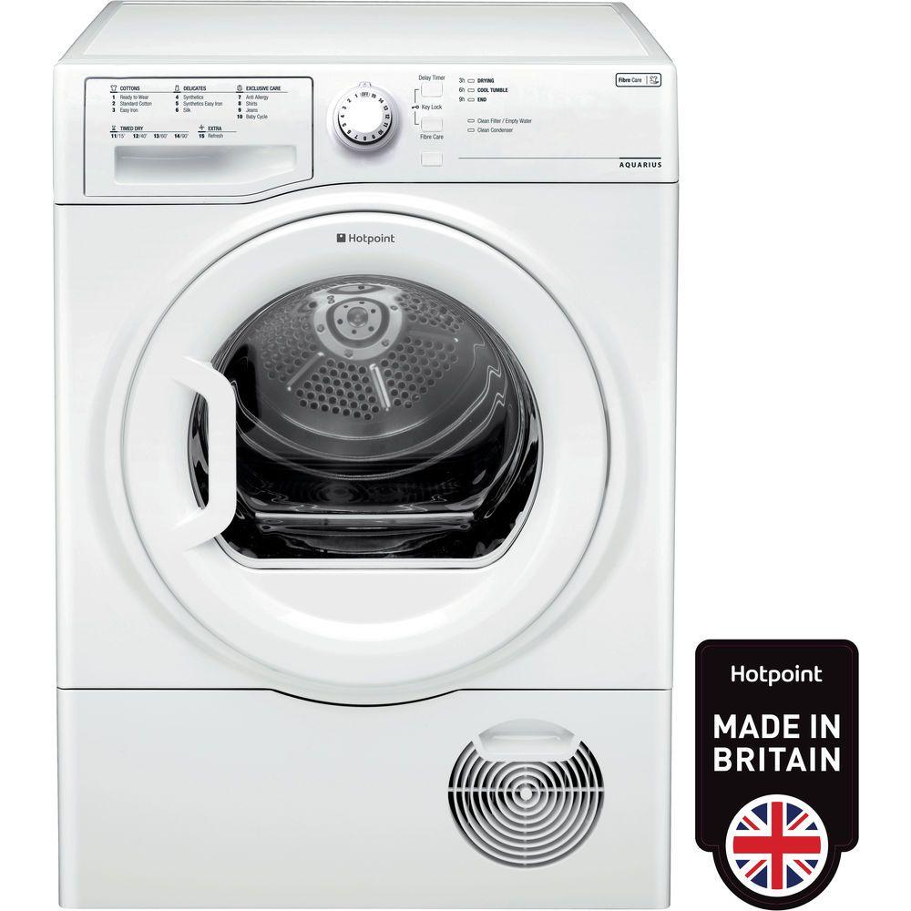 Hotpoint Aquarius TCFS 93B GP Tumble Dryer - White