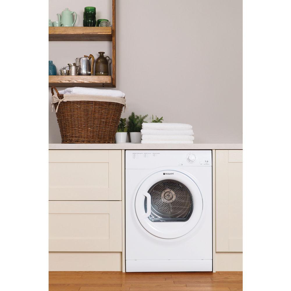 Hotpoint Air Vented Tumble Dryer Freestanding 7kg Tvfm 70b Gp Aquarius Washing Machine Wiring Diagram White