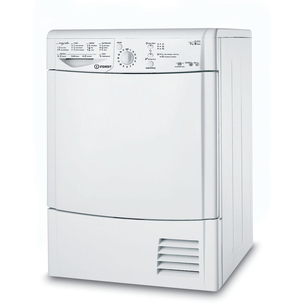 S Che Linge Condensation Indesit Posable 7 Kg Idcl 75 B Hr Fr