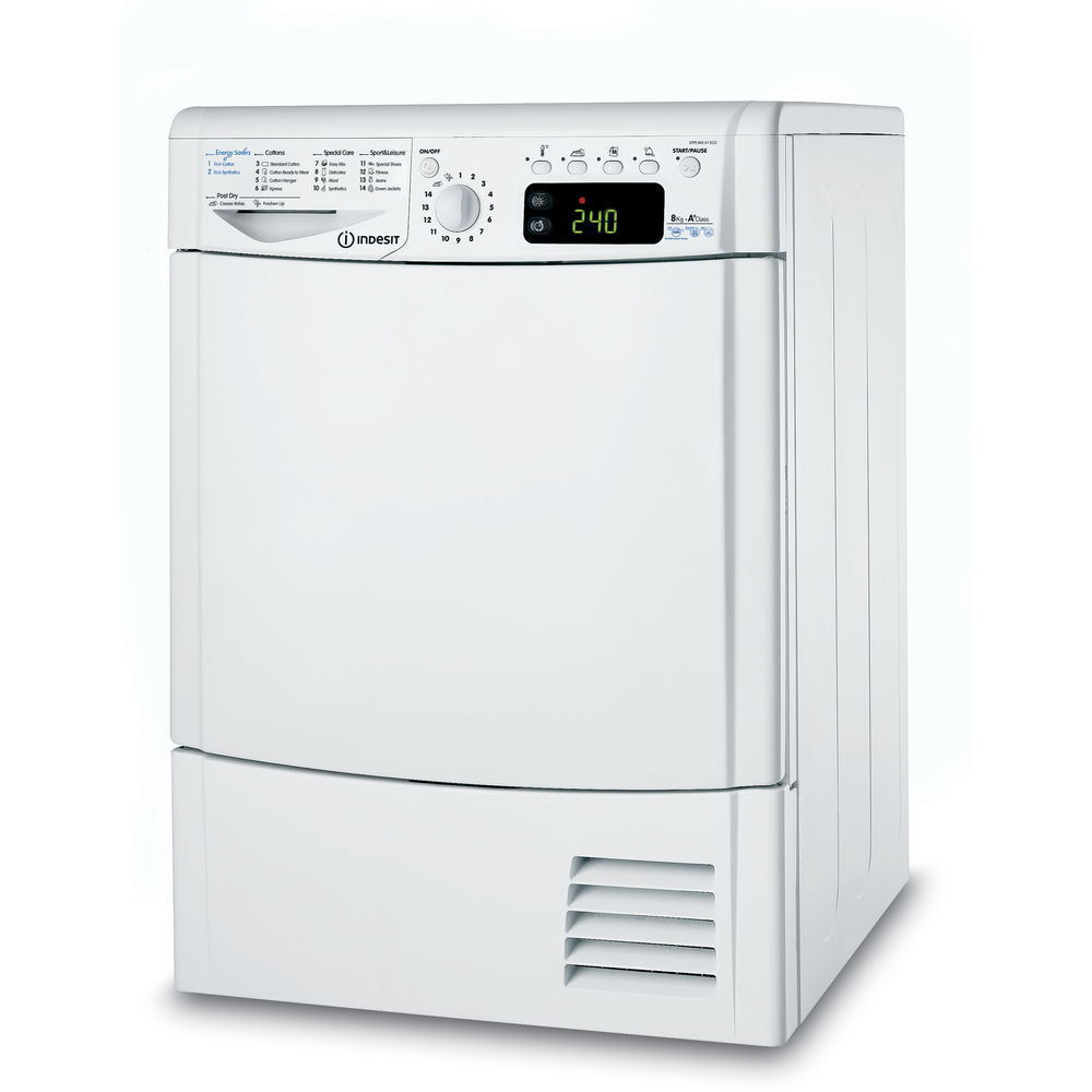 Heat pump tumble dryer: freestanding, 8kg