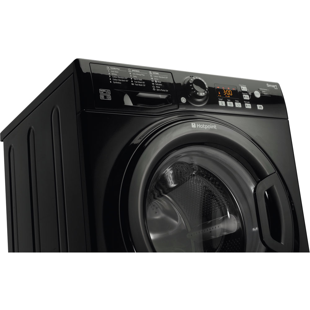 Hotpoint Freestanding Washing Machine 8kg Wmfug 842k Uk Wiring Diagram Smart Black