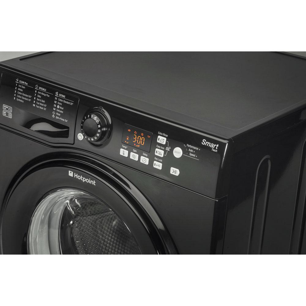 Hotpoint Freestanding Washing Machine 8kg Wmfug 842k Uk Wiring Diagram Smart Black