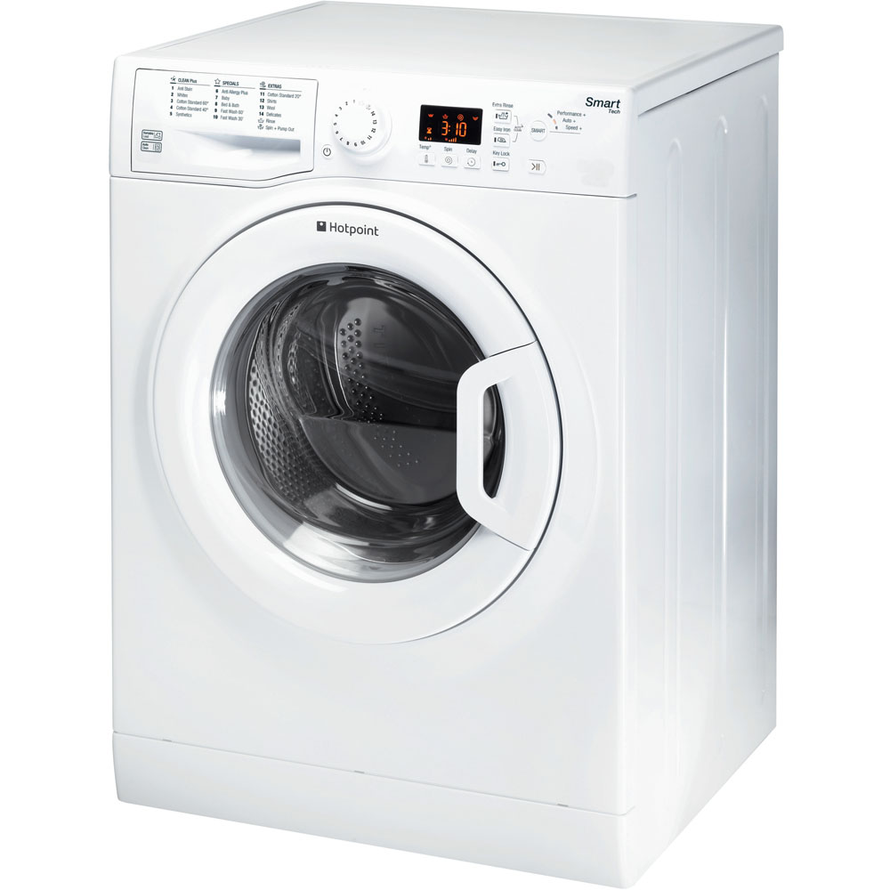 Hotpoint Smart WMFUG 942P Washing Machine - White