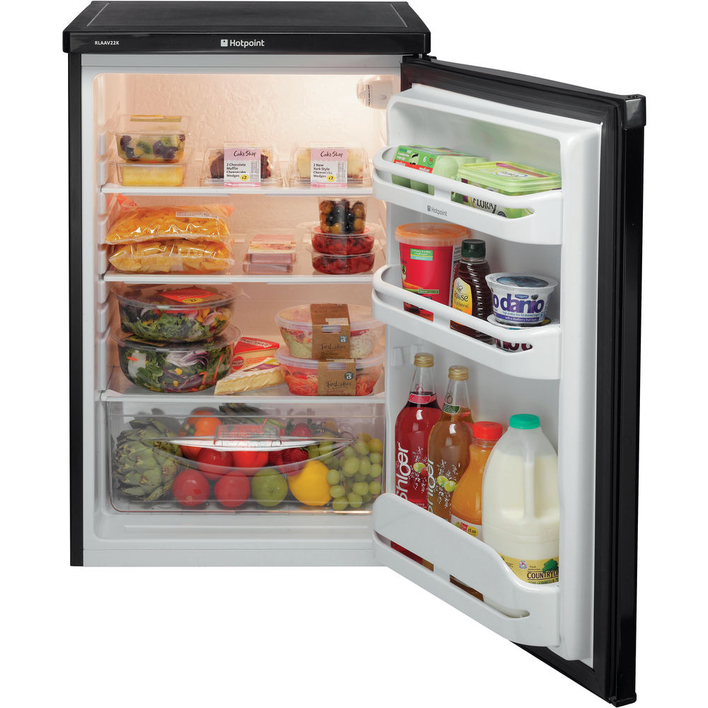Hotpoint A+ RLAAV22K.1 Fridge - Black