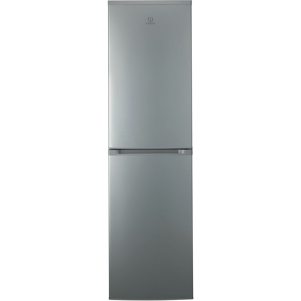 Indesit CVTAA 55 NF S Fridge Freezer in Silver