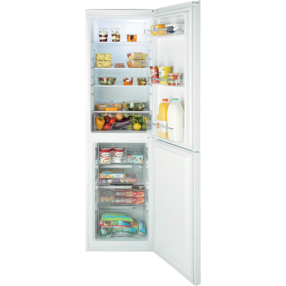Hotpoint Aquarius FSFL58W Fridge Freezer - White