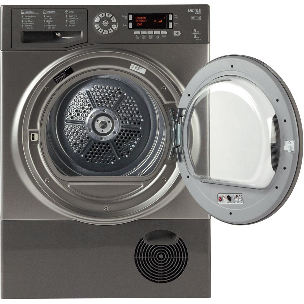 Hotpoint Condenser Tumble Dryer Freestanding 9kg Sutcd 97b 6gm Wiring Diagram Replacement Spare Ultima S Line Sutcd97b6gm Graphite