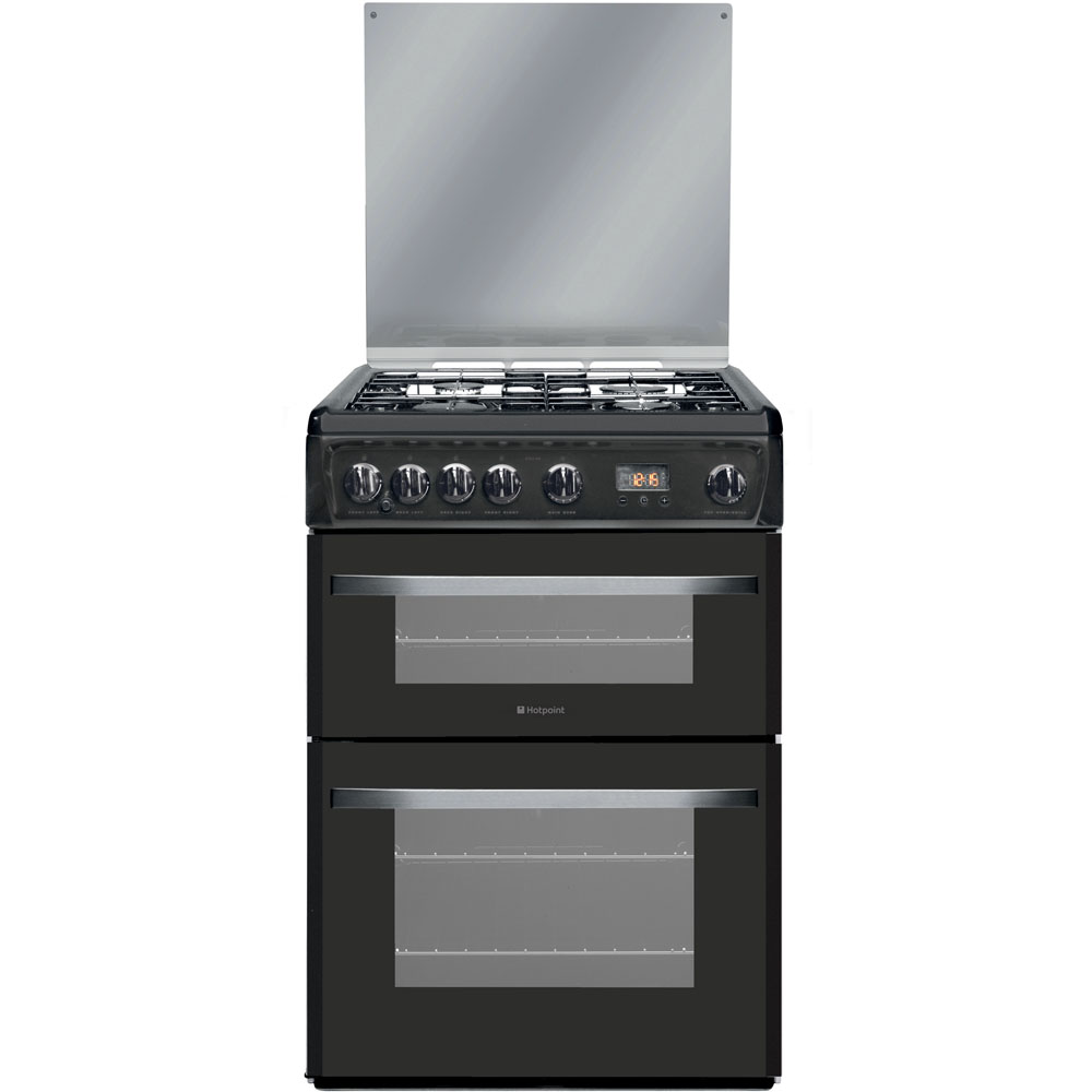 Hotpoint Smart DSG60GM Cooker - Gun Metal