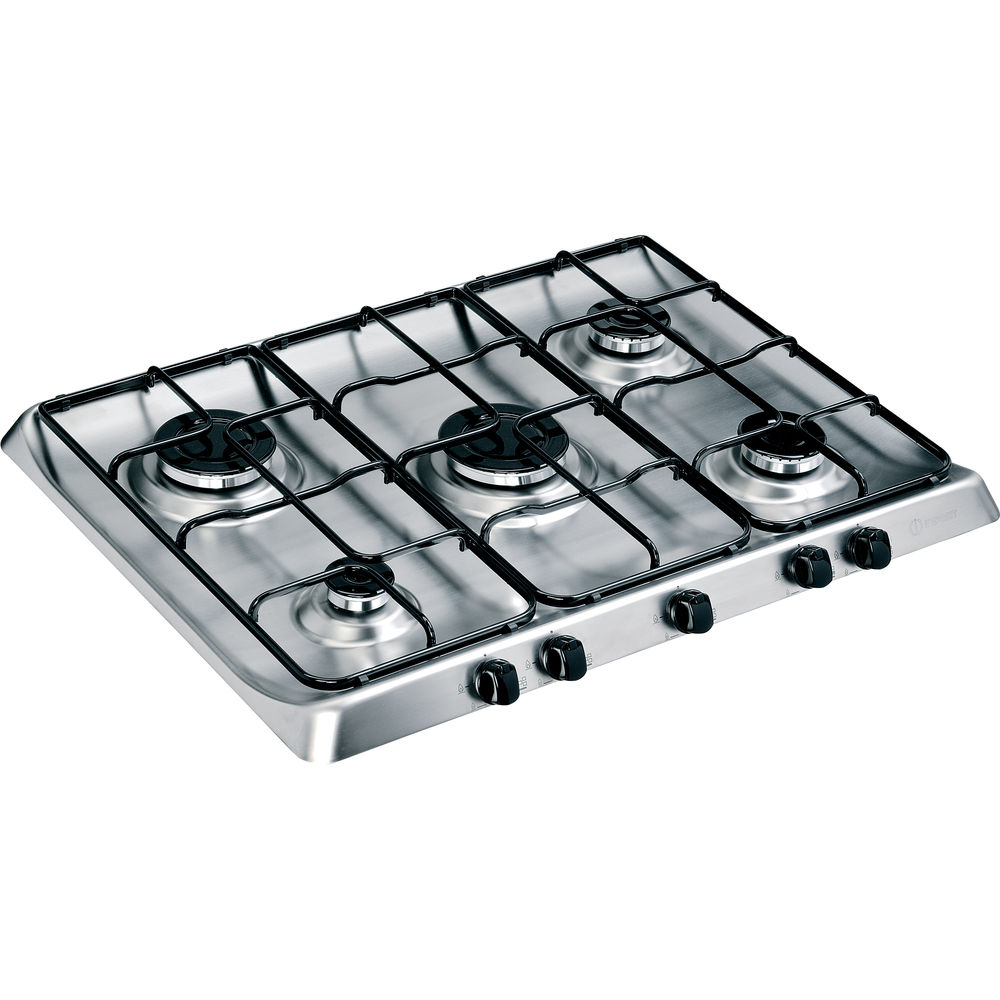 Indesit PIM 750 AS IX Gas Hob in Stainless Steel