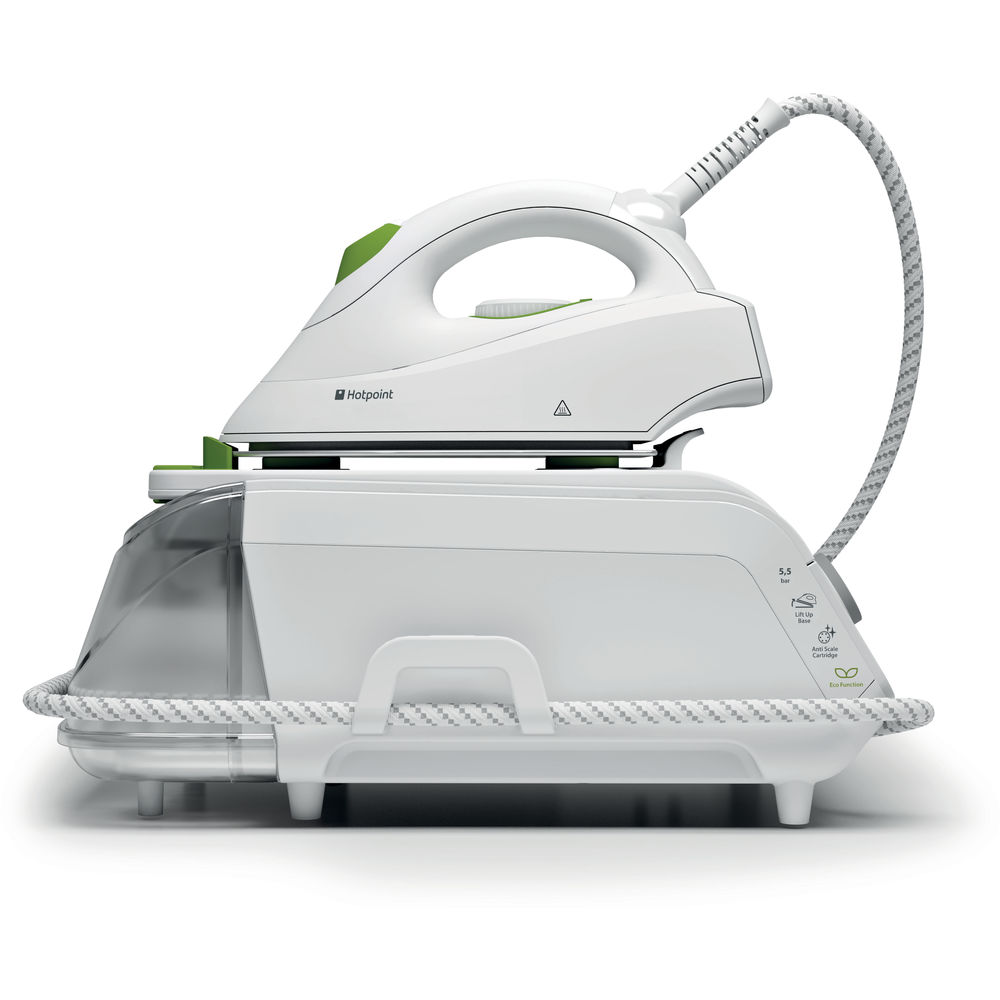 Hotpoint MyLine SG C11 CKG Steam Generator Iron - White/Green