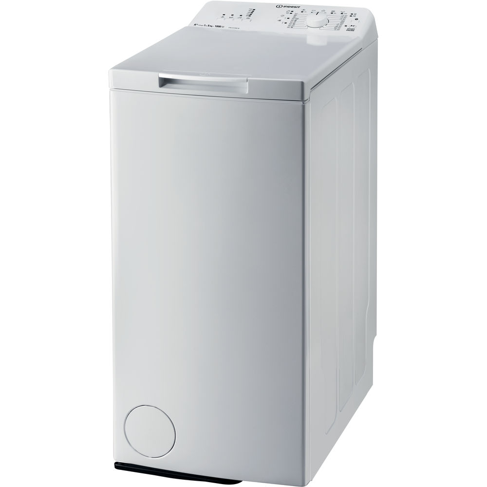Indesit freestanding top loading washing machine: 6kg