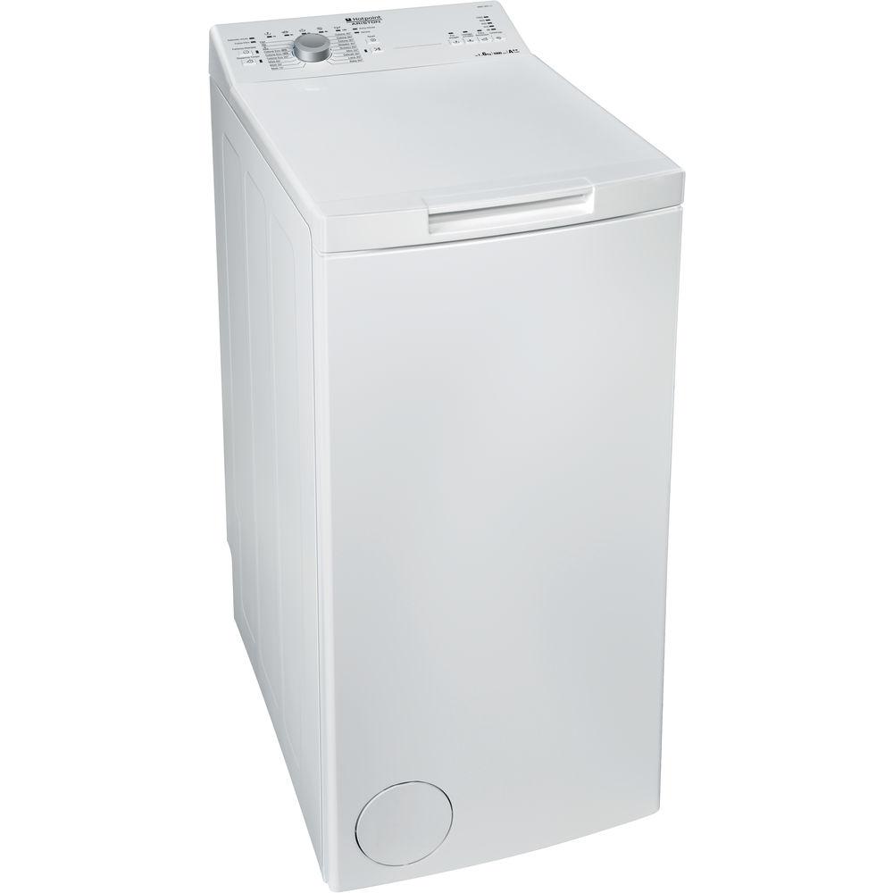 Lavatrice a libera installazione a carica dall'alto Hotpoint: 6 kg