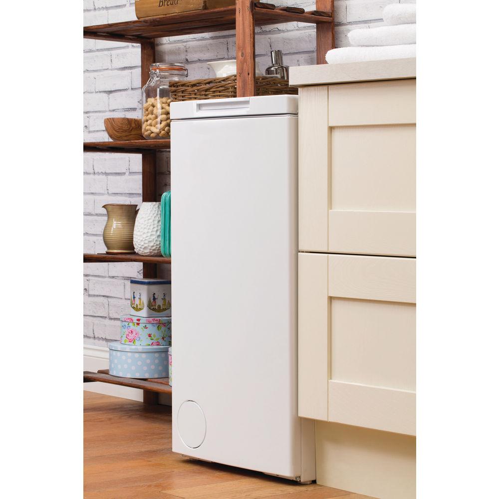 Hotpoint Freestanding Top Loading Washing Machine 7kg Wmtf 722 H Aquarius Wiring Diagram White