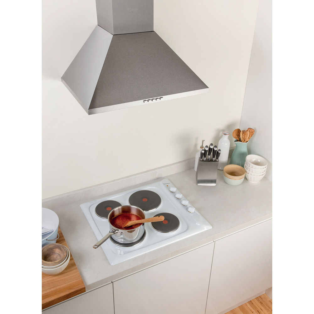 Indesit PIM 604 WH GB Electric Hob in White