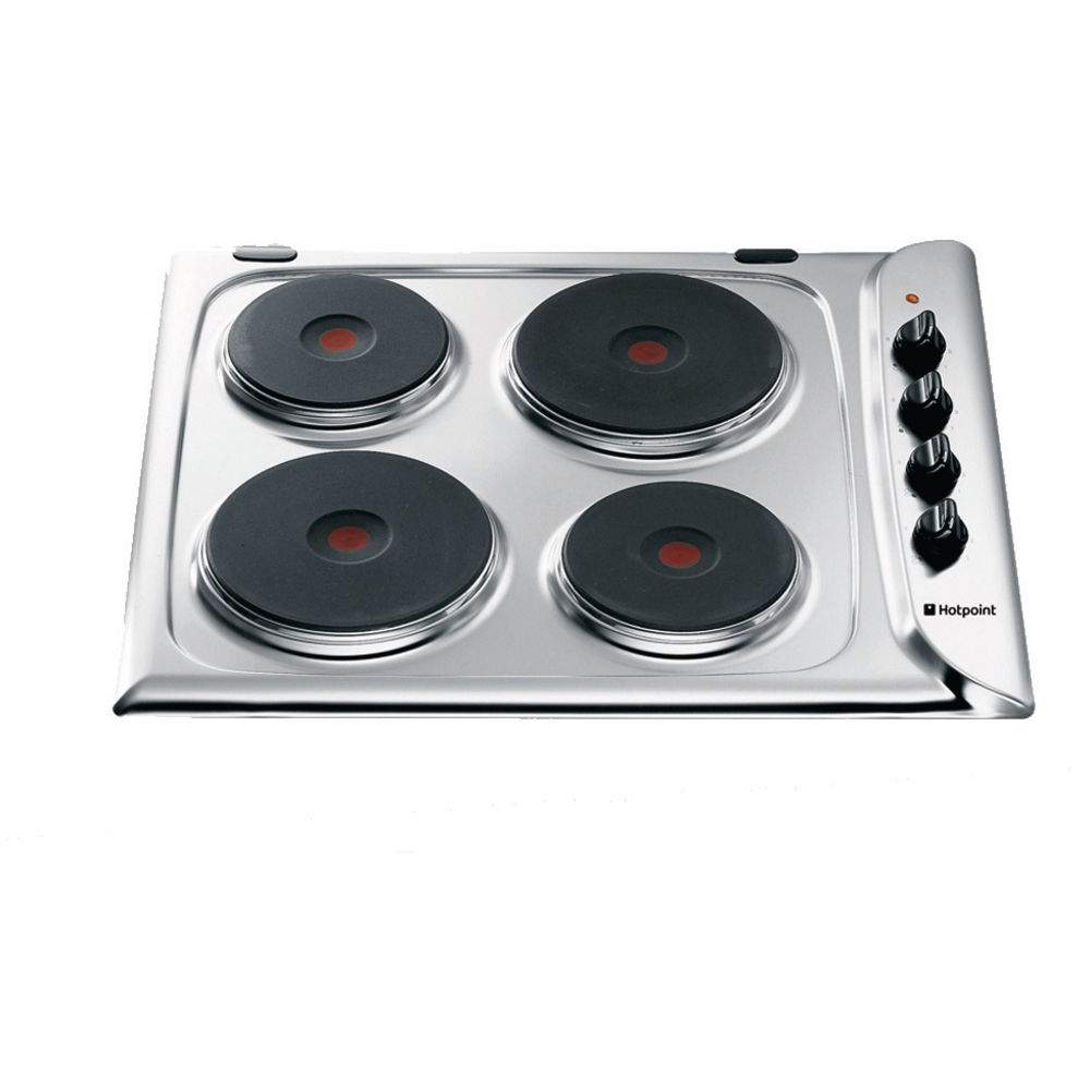 Hotpoint First Edition E604X Electric Hob - Stainless Steel