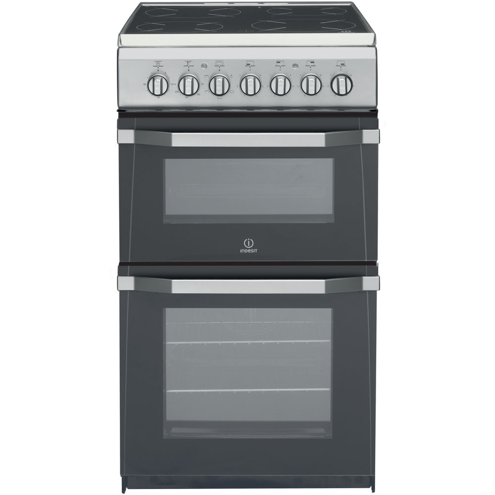 Indesit IT50C1(S) Cooker in Silver