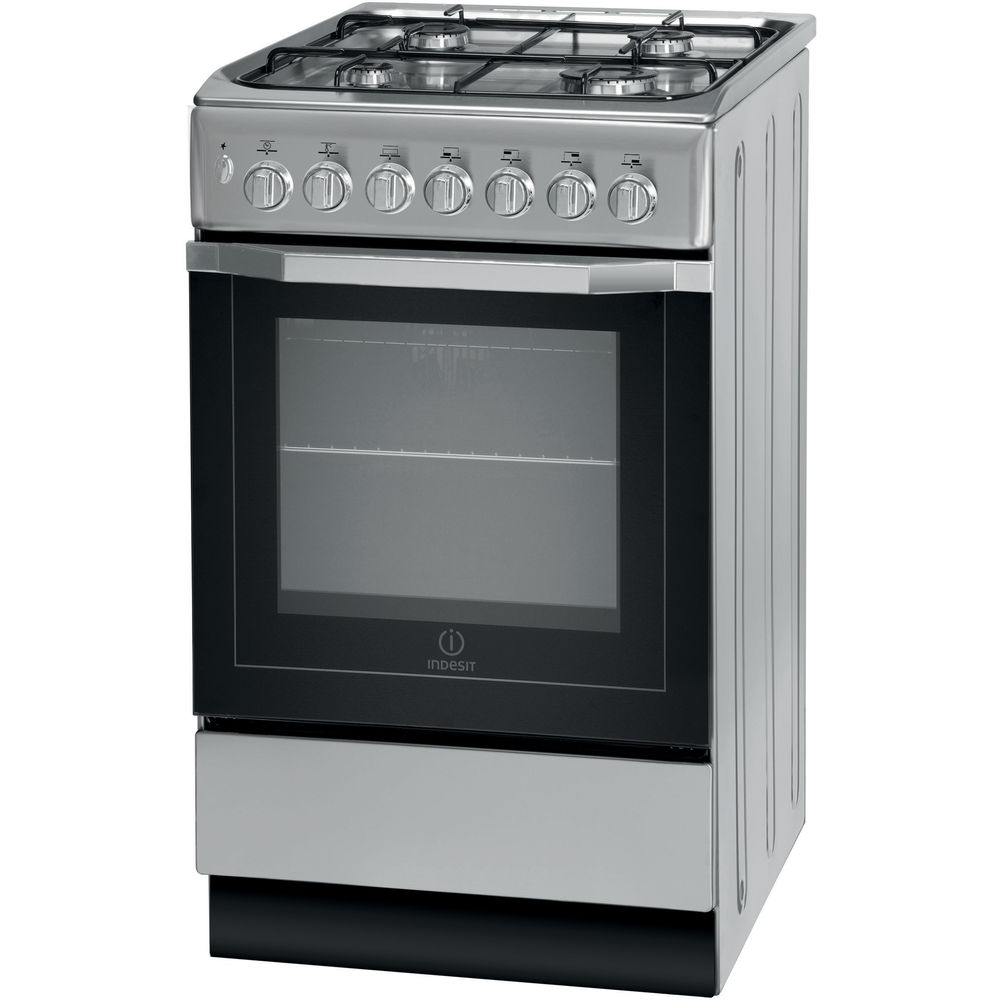 Indesit I5GSH1(S) Cooker in Silver