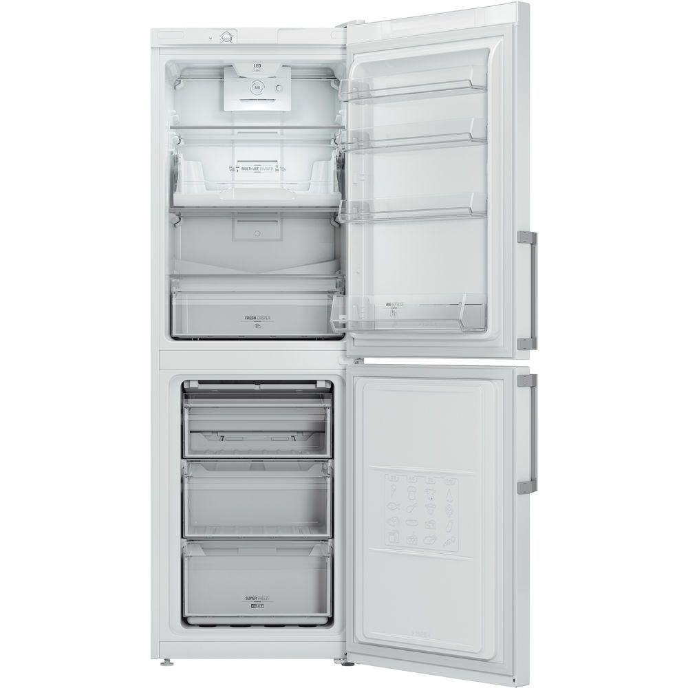 Hotpoint Day 1 LECO7 FF2 WH Fridge Freezer - White