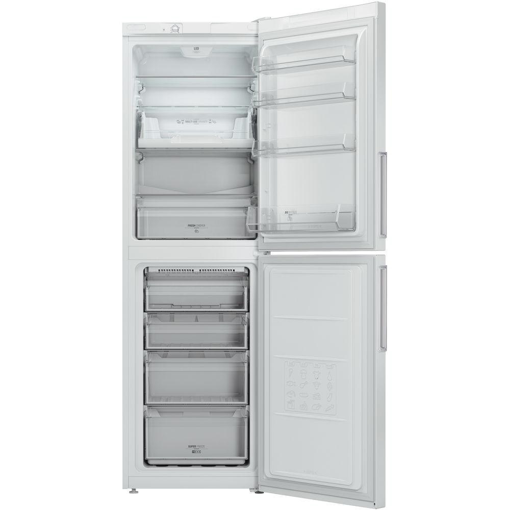 Hotpoint Day 1 Extra LEX85 N1 W Fridge Freezer - White