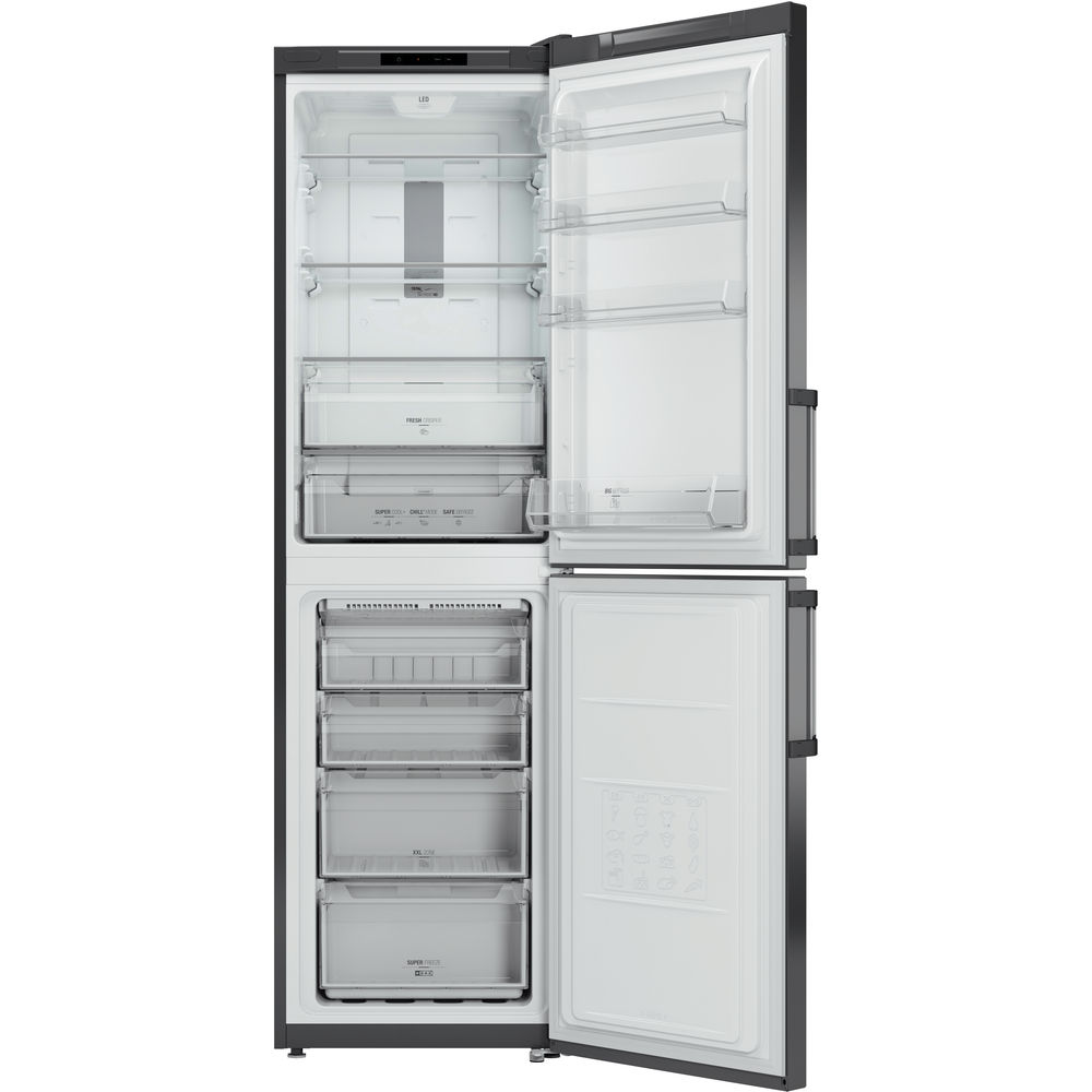 Hotpoint Day 1 XAG95 T1I GH Fridge Freezer - Graphite