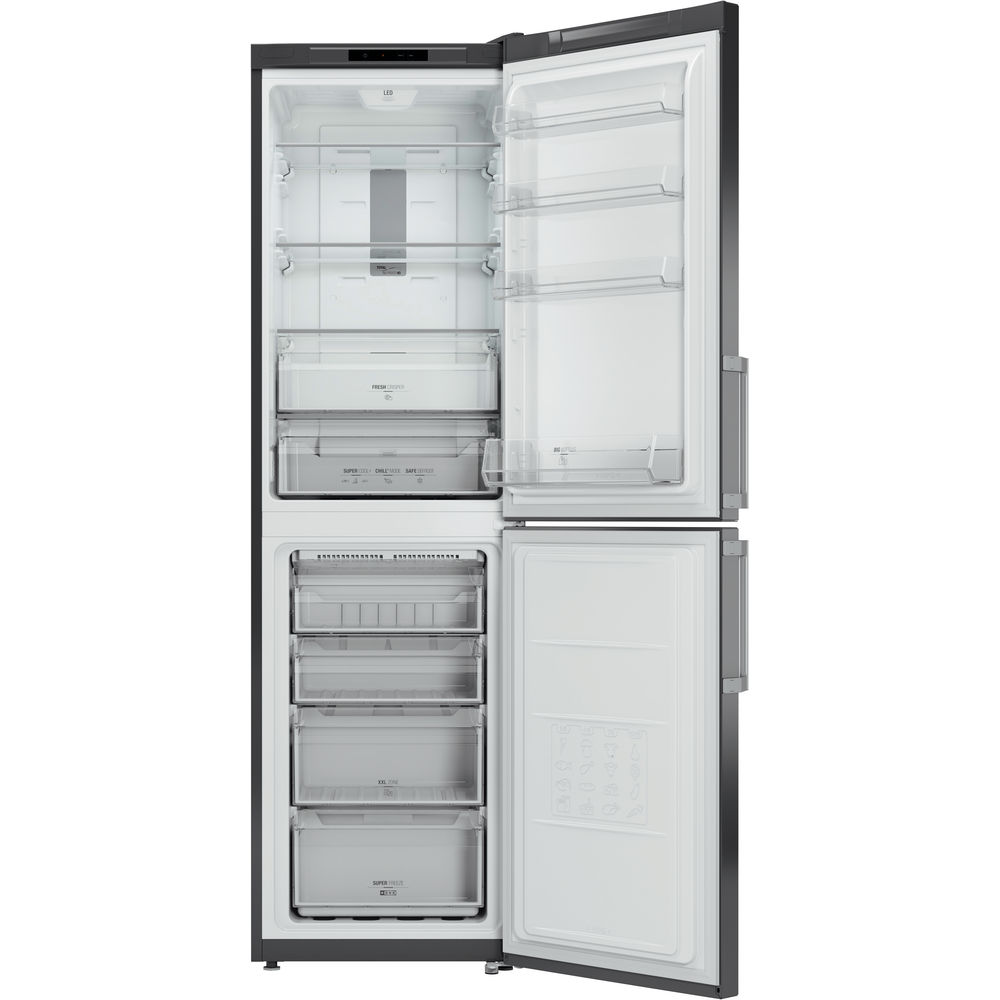 Hotpoint Day 1 XECO95 T2I GH Fridge Freezer - Graphite