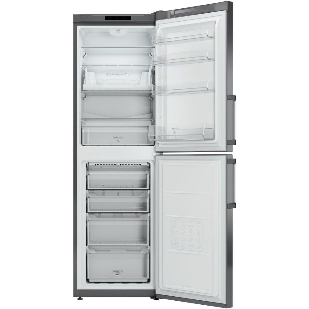 Hotpoint Day 1 LAG85 N1I GH Fridge Freezer - Graphite