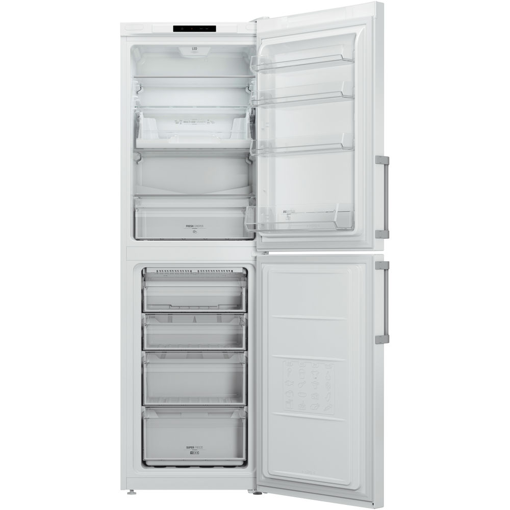 Hotpoint Day 1 LAG85 N1I WH Fridge Freezer - White