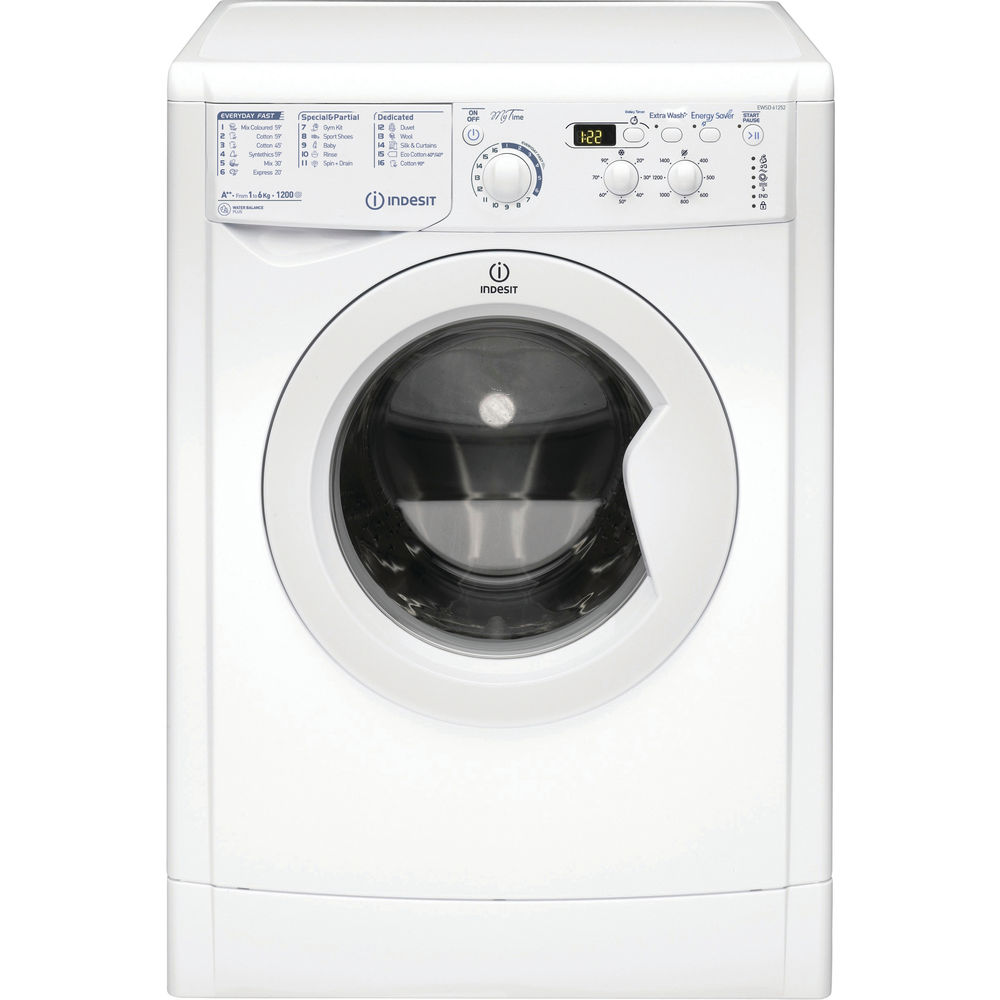 Indesit MyTime EWSD 61252 W Washing Machine in White