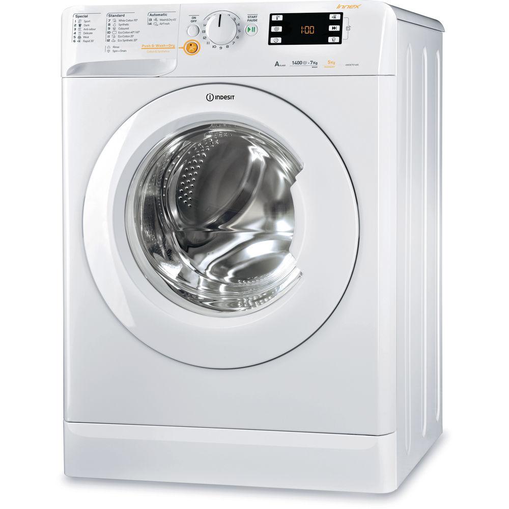 Indesit Innex XWDE 751480X W Washer Dryer in White