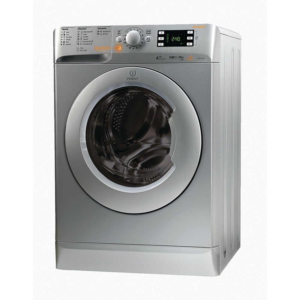 Indesit freestanding washer dryer: 7kg