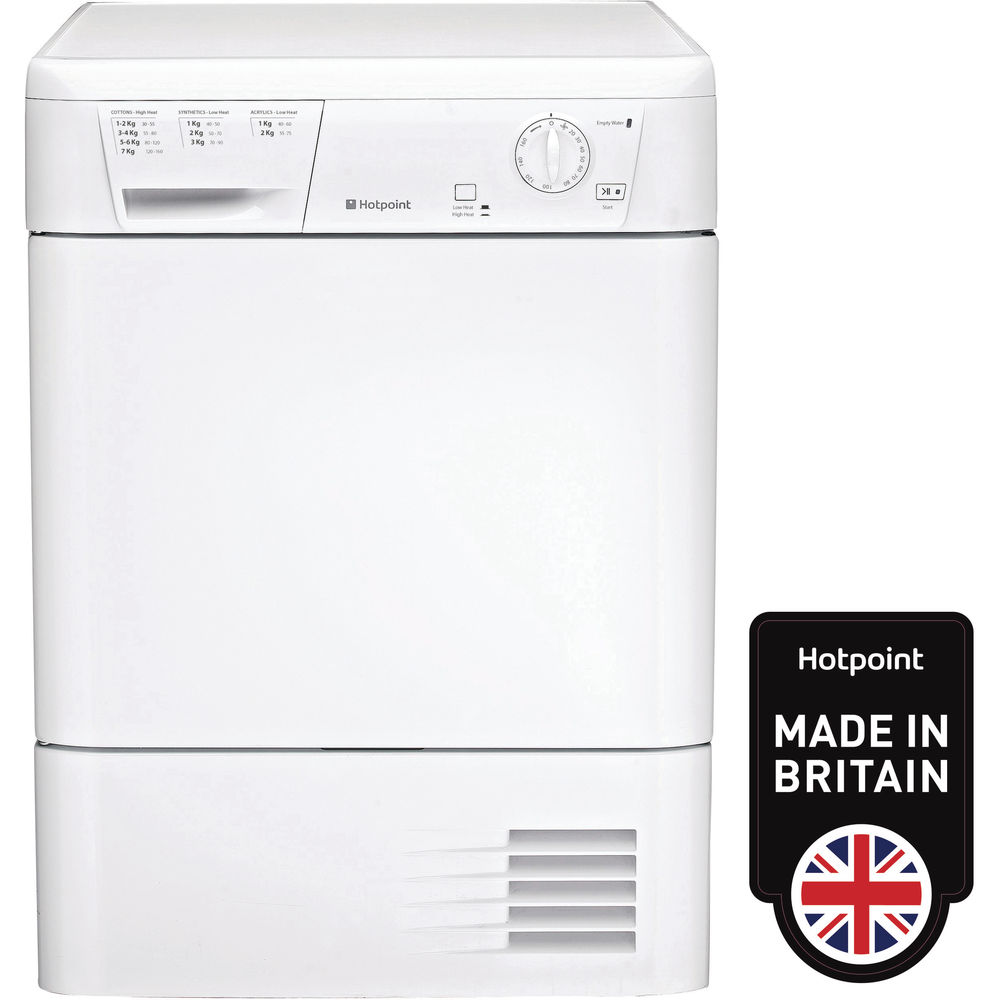 Hotpoint First Edition FETC 70B P Tumble Dryer - White