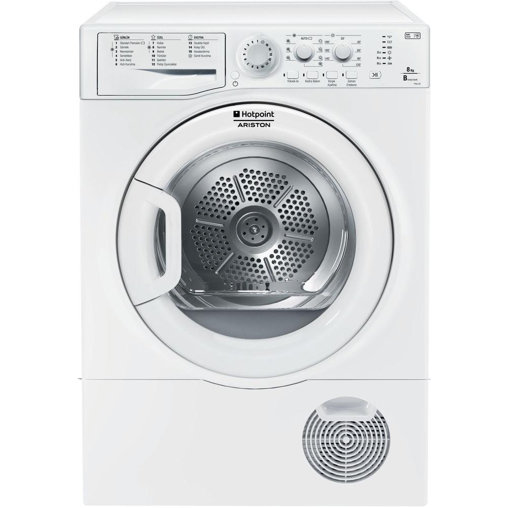 Hotpoint kondenser çamaşır kurutma makinası: solo, 8kg