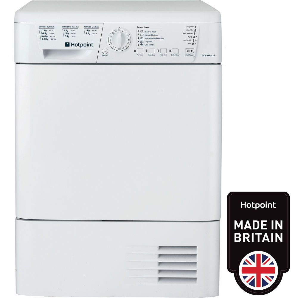 Hotpoint Aquarius TCHL 73B RP Tumble Dryer - White