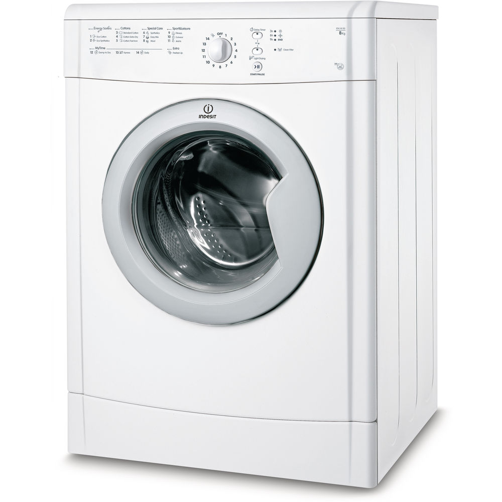 Air-vented tumble dryer: freestanding, 8kg