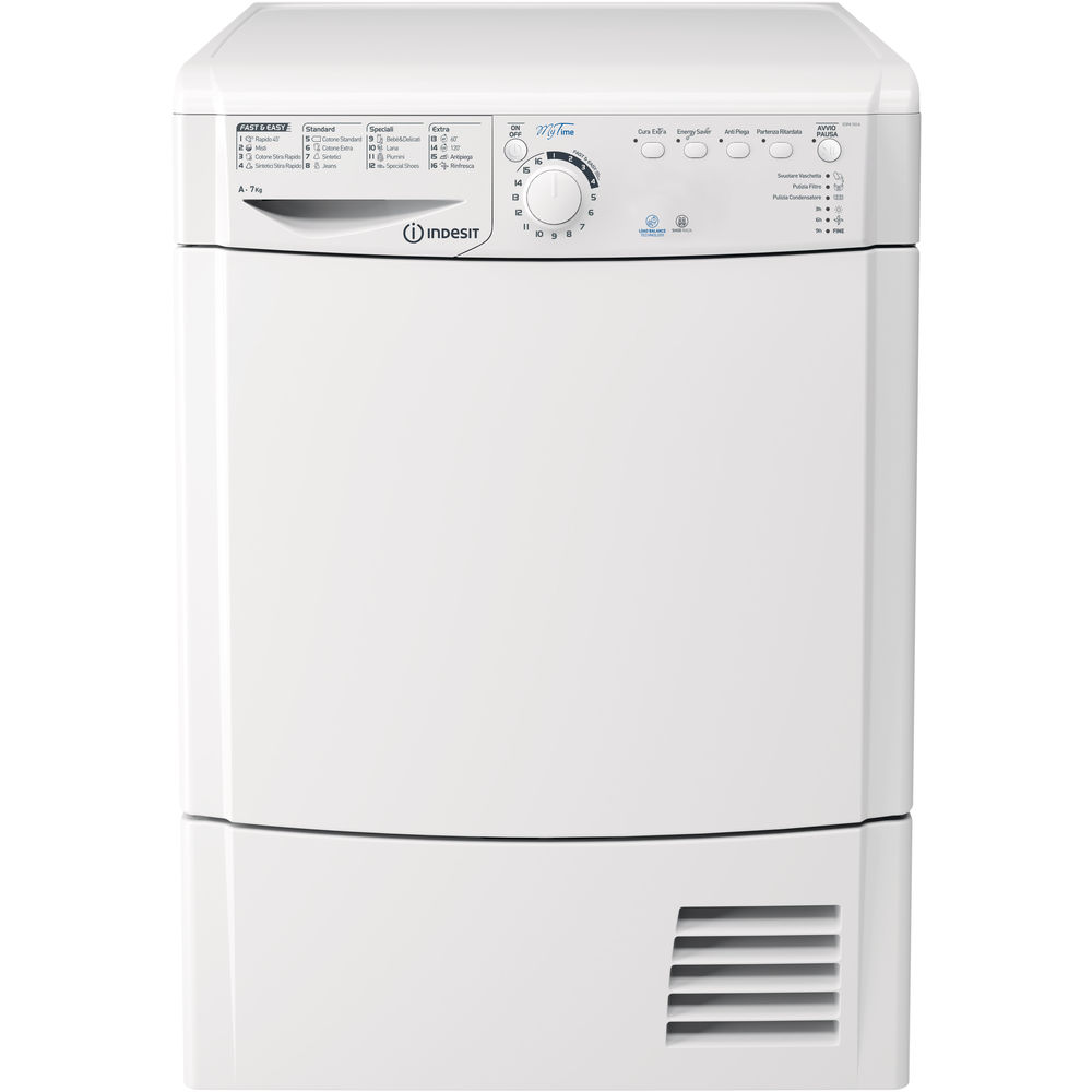 Asciugatrice a pompa di calore indesit a libera for Asciugatrice pompa di calore