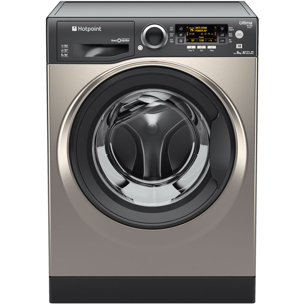 Hotpoint Ultima S-Line RPD 9467 JGG Washing Machine - Graphite