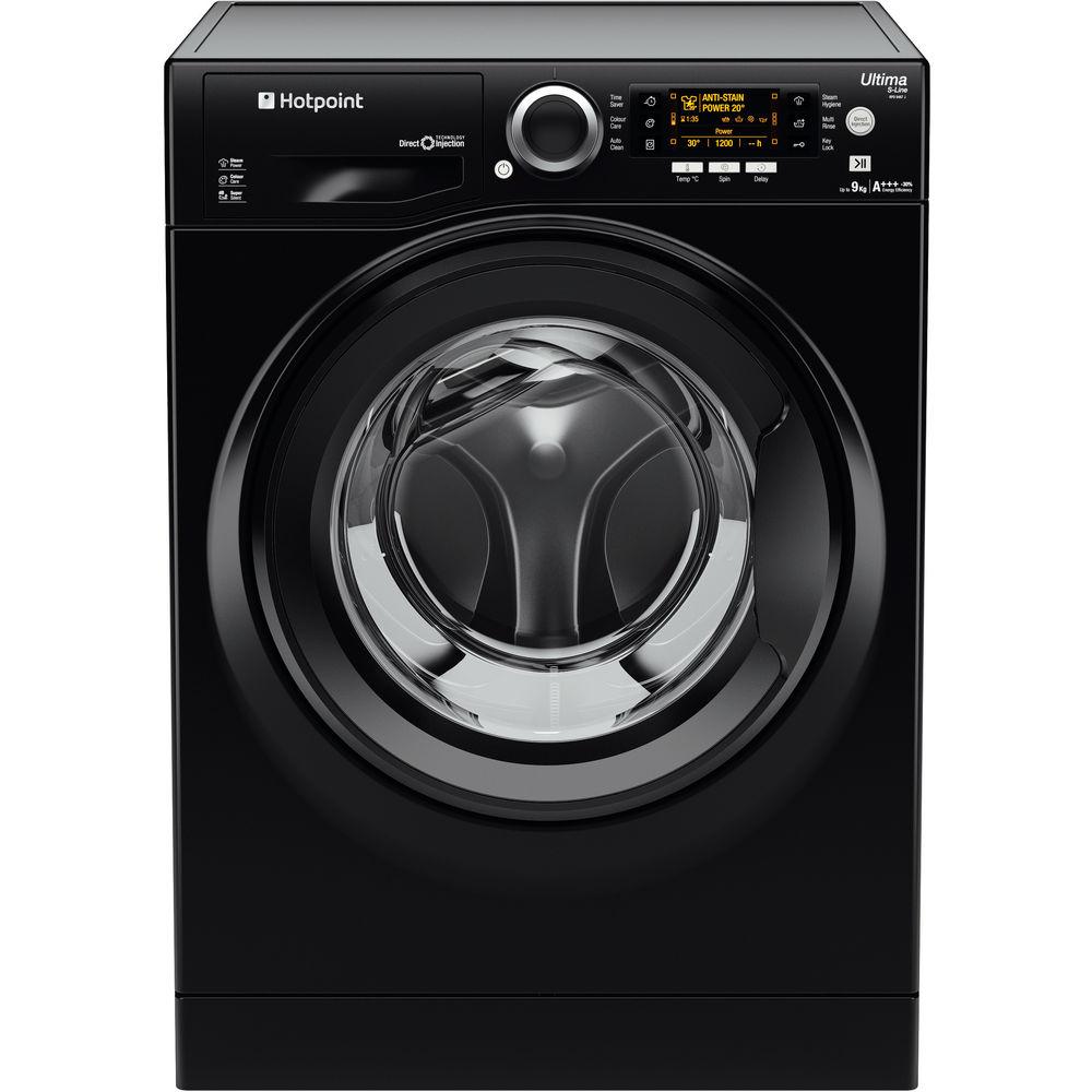 Hotpoint Ultima S-Line RPD 9467 JKK Washing Machine - Black