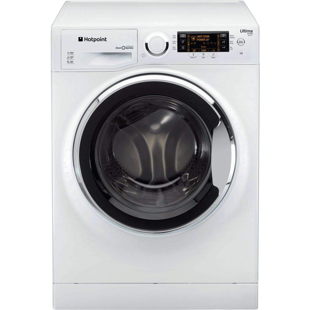 Hotpoint Ultima S-Line RPD 9647 JX Washing Machine - White