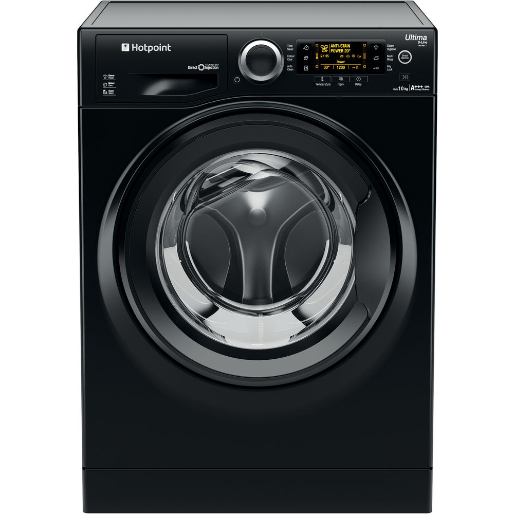 Hotpoint Ultima S-Line RPD 10457 JKK Washing Machine - Black