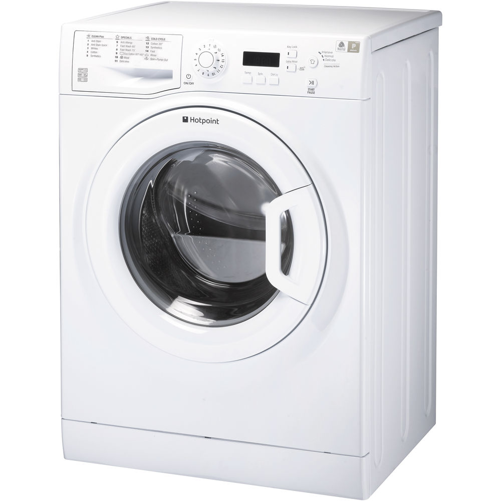 Hotpoint freestanding front loading washing machine: 9kg - WMBF 963P