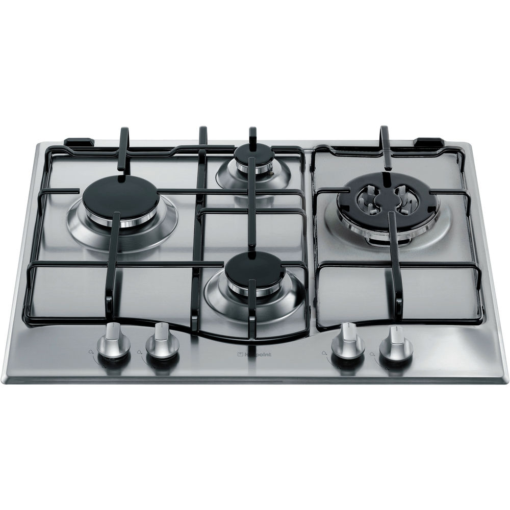 Hotpoint GC640TX Gas Hob - Stainless Steel
