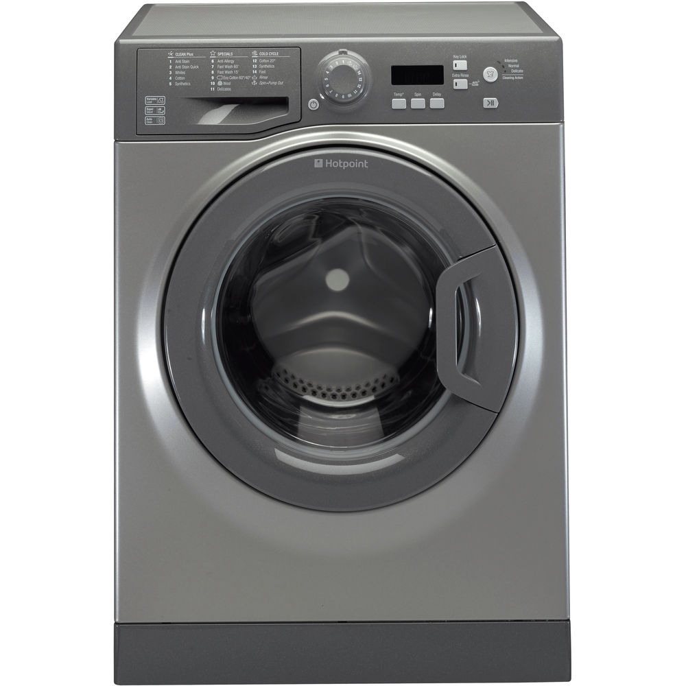 Hotpoint Experience Eco WMBF 742G Washing Machine - Graphite