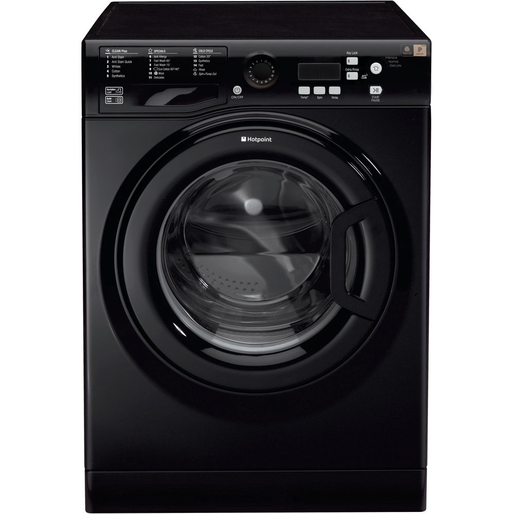 Hotpoint Experience Eco WMBF 944K Washing Machine - Black