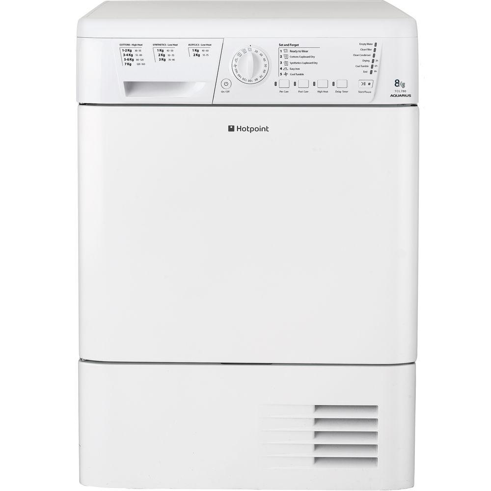 Hotpoint Aquarius TCHL 780BP Tumble Dryer - White
