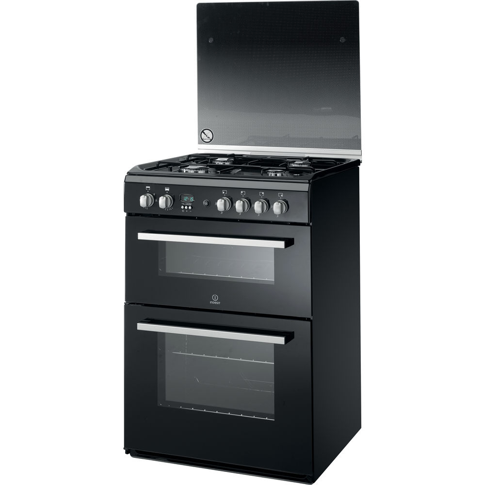 Indesit DD60G2CG(K) Cooker in Black