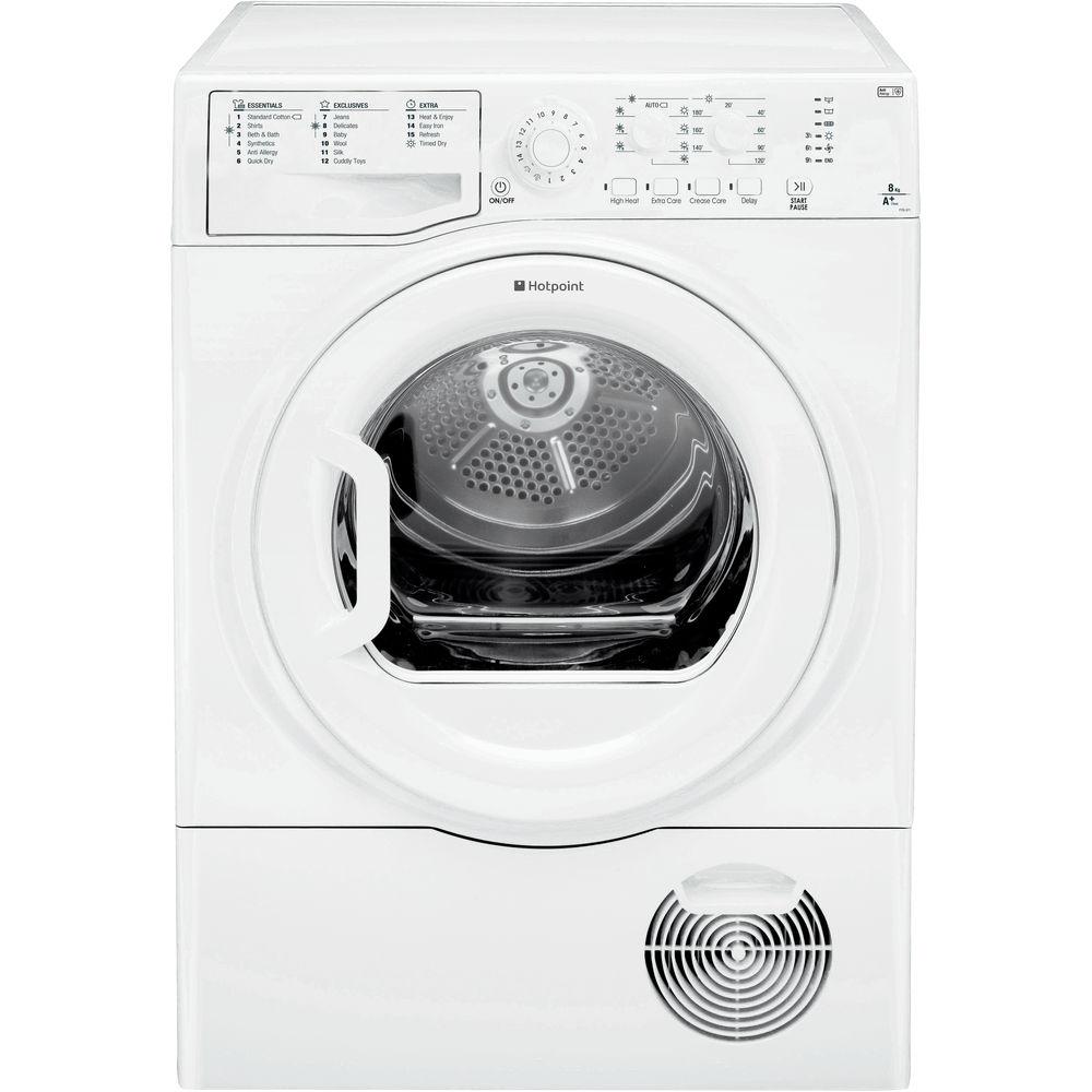 Hotpoint Aquarius FTCL 871 GP Tumble Dryer - White