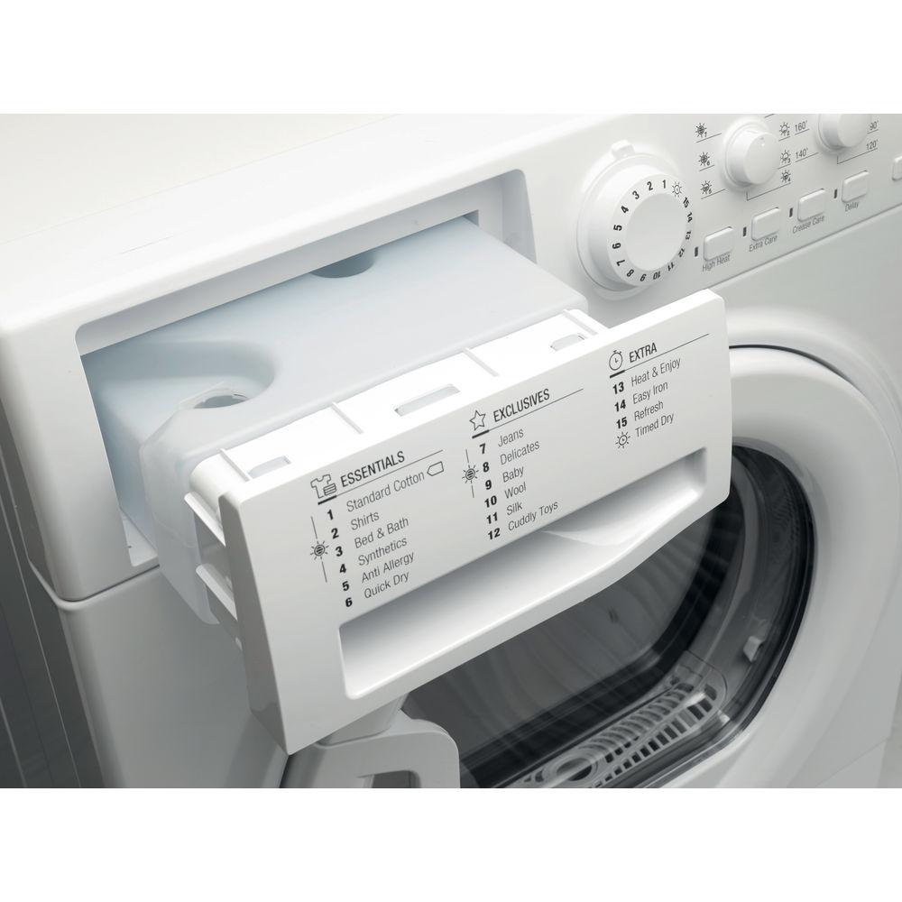 Hotpoint Heat Pump Tumble Dryer Freestanding 8kg Ftcl 871 Gp Uk Indesit Washing Machine Motor Wiring Diagram Aquarius White